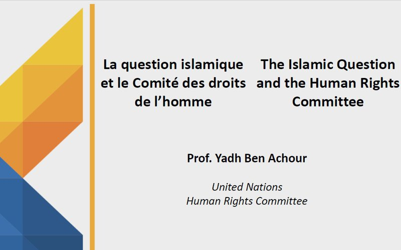 The Islamic Question and the Human Rights Committee